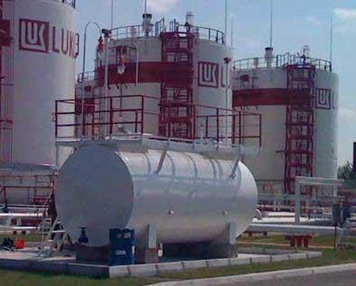 Монтажу узла дозирования присадки Hitec на нефтебазе в г. Борисполь